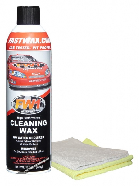 Quality Waterless Products FW1 Wash & Wax 17.50 oz. Aerosol Can (Special Internet Price) for sale