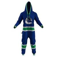 Vancouver Canuck Adult & Youth Onesie Manufactures