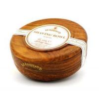 D.R. Harris Almond Shaving Soap in Mahogany Bowl Manufactures