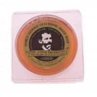 Col Conk Amber Glycerine Shave Soap - small Manufactures