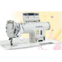 Twin Needle Direct Drive Split Needle Bar Lock Stitcher with Large Hook and Thread Trimmer