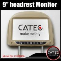 Universal 9 inch car headrest monitors with ISDB-T DVB-T ATSC-MH receivers optional, CATEC CH9005A