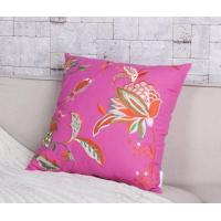 Country Style High Quality Flower Embroidery Throw Pillow Manufactures