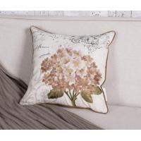 Country Style Flower Embroidery Cushion Cover Pillowcase Manufactures