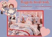Raggedy Ann & Andy Candy Heart FULL Size Sheet Set Manufactures
