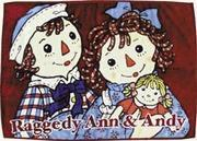 Raggedy Ann & Andy Large Fleece Blanket from Japan Manufactures