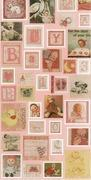 Baby Girl Stamps / Stickers with Raggedy Ann Manufactures