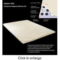 China System 3000 Magnetic Mattress Pad (King) on sale