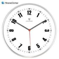 Large Metal Radio Controlled Wall Clock Manufactures