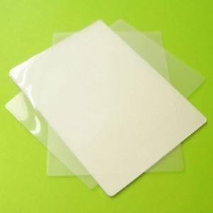 Quality Credit Card 54 86mm 50mic-350mic White Gloss Laminate Sheet for sale