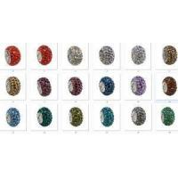 2015 Latest Rhinestone Big Hole Beads For Bracelet Accessories Manufactures
