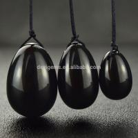 Buy cheap Wholesale Natural Black Obsidian Eggs Quotation from wholesalers
