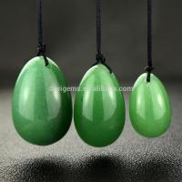 Whloesale Natural Semi-precious Green Aventurine Yoni Eggs for Kegel Exercise Manufactures