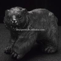 Buy cheap Big Size Animals Carving Figurines Carved Gemstone Bear Craft from wholesalers