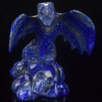 Buy cheap Wholesale 5 Natural Carved Lapis Lazuli Dragon Carving Craft from wholesalers