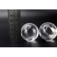 Buy cheap Carved Natural Rock Quartz Sphere Manufactory in China from wholesalers