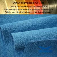 China High Quality Faux Suede Upholstery Fabric Material on sale