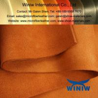 China Best Quality Imitation Suede Leather Fabric on sale