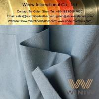 China Highest Quality Artificial Suede Leather Fabric on sale