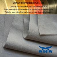 China High Quality PU Faux Suede Leather Fabric on sale