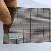 China Micro Matchstick Bamboo Blinds on sale