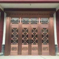 Good Quality Luxurious Copper Wood Composite Door and Window Manufactures