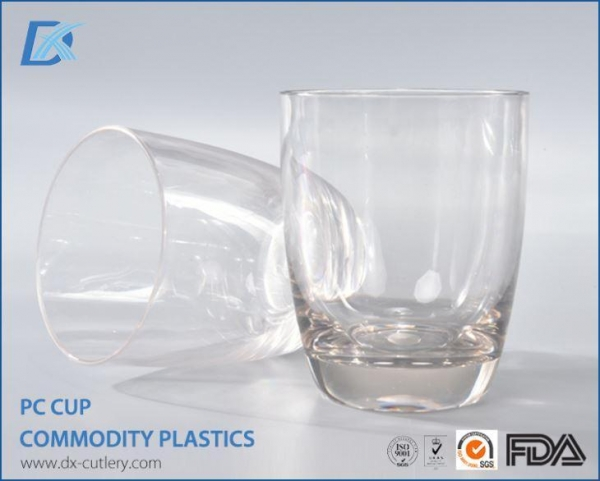 Quality Hard Plastic Personalised Drinking Cups PC Cup for sale