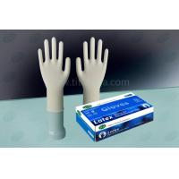 China LGMW-PFM6.0 Latex Exam Gloves powder free on sale