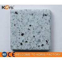 Koris Grey Marbled Table and Chair Modified Solid Surface Shower Surround Quartz Stacked Stone Manufactures