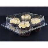 Buy cheap Clear Jumbo Cupcake Muffin Container Boxes Holds 4 jumbo Cupcake muffins each - 11 boxes from wholesalers