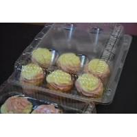 China Cupcake Boxes, Cupcake Containers, 12 Pack Cupcake Containers, Set of 12,by the Bakers Pantry on sale