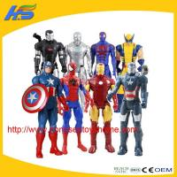 action figures New product marvel the avenger toys plastic action figures Manufactures