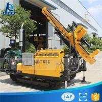 Diesel Engine Small And Light Model Rubber Crawler Hydraulic Anchoring Drilling Rig Manufactures