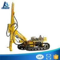 Buy cheap Diesel Engine Hydraulic Crawler Mounted Low Air Pressure Dth Drilling Rig from wholesalers