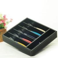 hollow out bamboo cutlery tray
