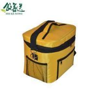 China Fabric Ziploc Cooler Bag Fashion Portable Insulated Cooler Boxs Small Yummy Mummy Bag Tote Bags wholesale