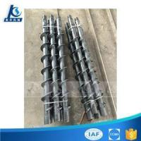 Twist Spiral Drill Rod Or Auger Drill Pipe For Soil Sand Drilling Manufactures