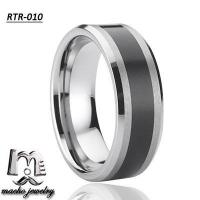 resin inlay tungsten ring tungsten wedding rings RTR-010 Manufactures