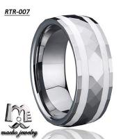 resin inlay tungsten ring tungsten wedding rings RTR-007 Manufactures