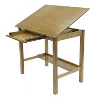 China STUDIO DESIGNS Americana II Drafting Table 36in X 48in Light Oak 13253 on sale