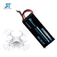 Quality Agricultural Plant Protection UAV Drone Lipo Battery 22.2V 8000mAh With 2S 3S 4S 5S 6S for sale