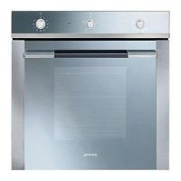 China Smeg Linea SF102GV Built In Oven Gas Single Fan 60cm Stainless Steel on sale