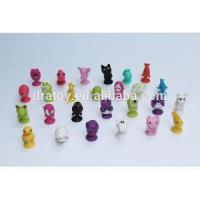 China Promotiona TPR/Soft Rubber/cartoon Stikeez Figurines Mini Toys For Capsule Toy on sale