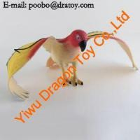 Plastic Attractive Animal Bird/parrot/Owl/Peacock/Eagle Pet Toy Manufactures