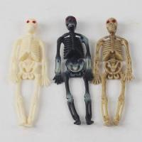 Cheap Plastic Hanging Halloween Skeleton Toy Props High Imitation Manufactures