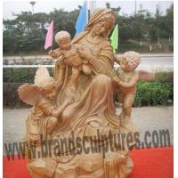 Kind Virgin Mary Bronze Garden Statue as Outdoor Ornaments Manufactures