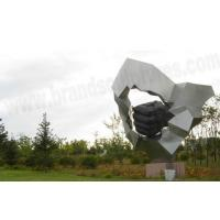 Large Outdoor Fountains Metal Steel Modern Sculptures Manufactures