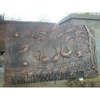 Large Wall Metal Customized Relief Sculpture as Hall Ornaments Manufactures