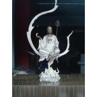 Interior Monk Buddha Art Brass Statues for Home Ornament Manufactures