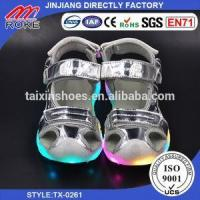 Buy cheap Summer Kids Led Shoes Girls Boys Sandals Casual USB Change Shoes from wholesalers